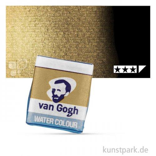 Talens VAN GOGH Aquarellfarben 1/2 Napf   802 Reichgold
