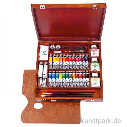 Talens VAN GOGH Ölfarbe Malkasten Expert mit 26 Farben und Zubehör