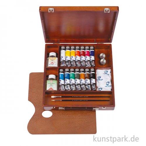 Talens VAN GOGH Ölfarbe Malkasten Inspiration - 14 x 40 ml Tuben und Zubehör