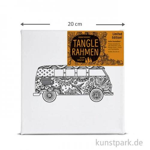 Tangle Rahmen Bus 20x20 cm