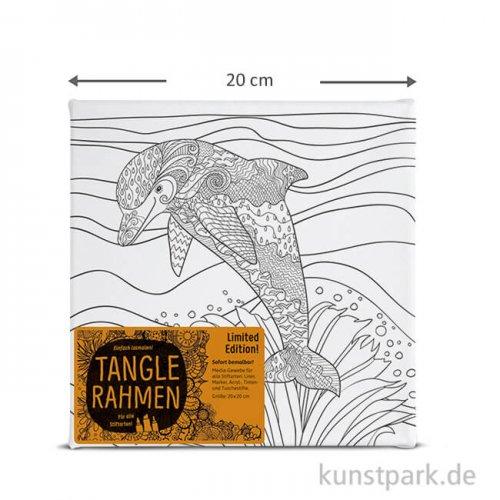 Tangle Rahmen Delfin 20x20 cm