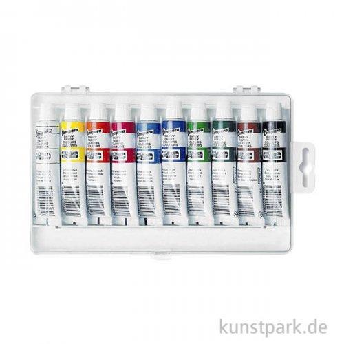 Koh-I-Noor Tempera Farben Sortiment - 10 x 16 ml