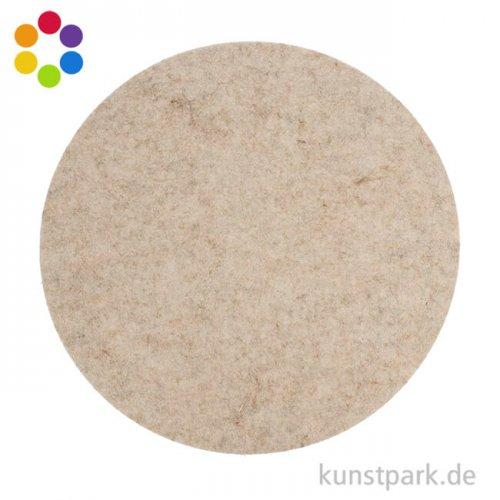 Tischset aus Filz rund, 35x0,5 cm