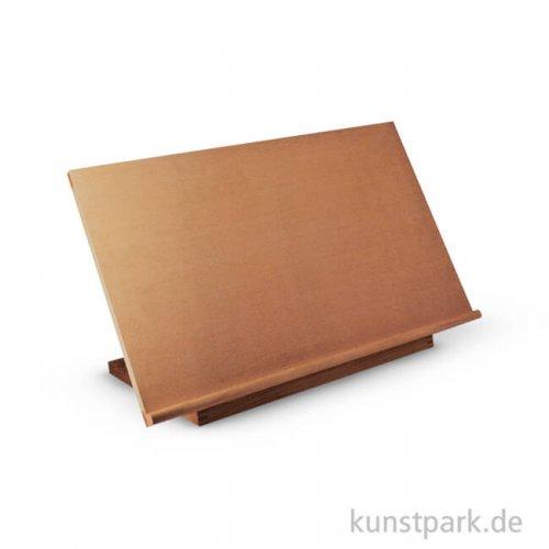 Mobile Tischstaffelei und Zeichentafel aus Buchenholz