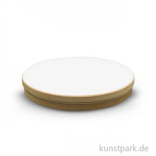 Töpferscheibe aus MDF mit Kugellager, Durchmesser 20 cm