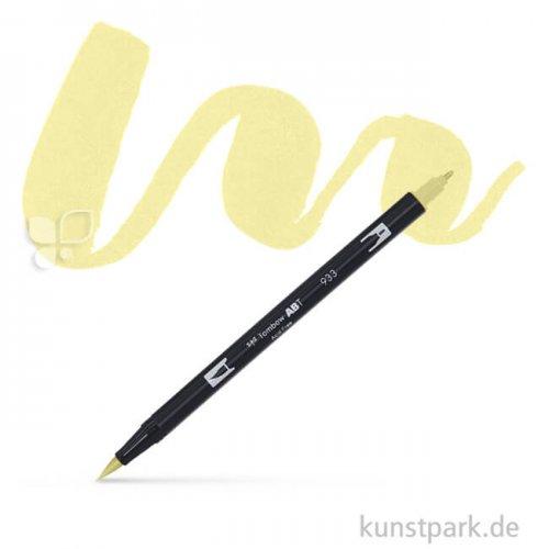 Tombow Dual Brush Pen Einzelfarbe | 090 lemon cream