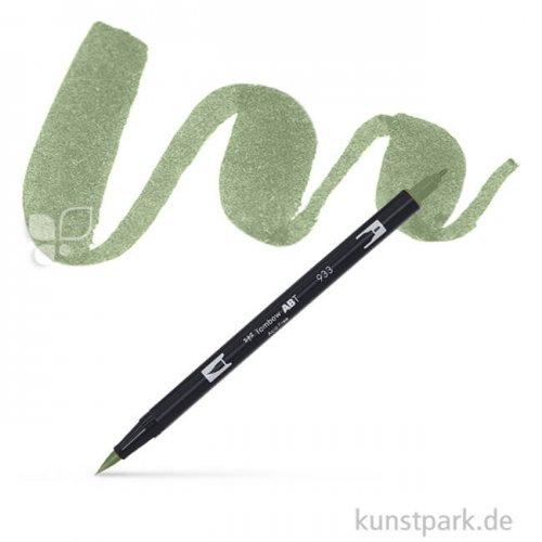 Tombow Dual Brush Pen Einzelfarbe   228 gray green