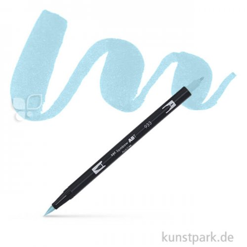 Tombow Dual Brush Pen Einzelfarbe   451 sky blue