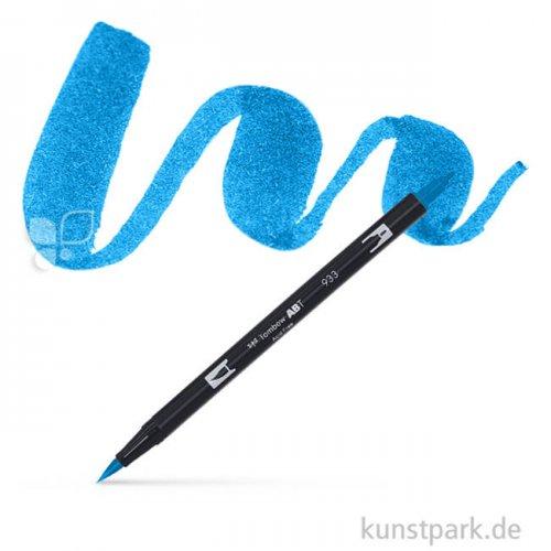 Tombow Dual Brush Pen Einzelfarbe   493 reflex blue