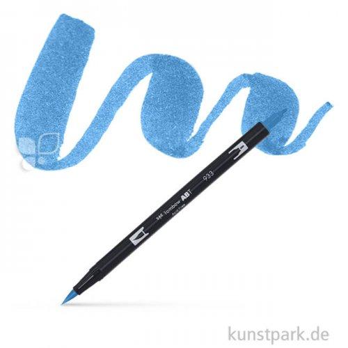 TOMBOW Dual Brush Pen Einzelfarbe   533 peacock blue