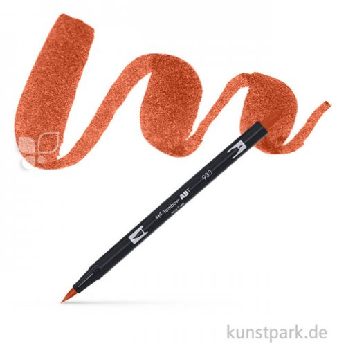 Tombow Dual Brush Pen Einzelfarbe | 947 burnt sienna