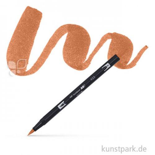 Tombow Dual Brush Pen Einzelfarbe   977 saddle brown