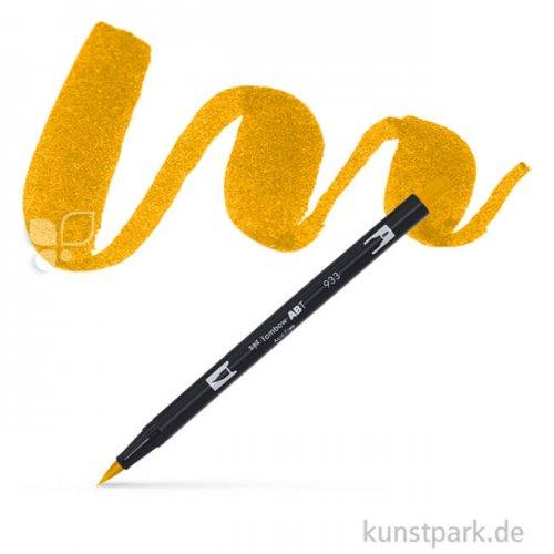 TOMBOW Dual Brush Pen Einzelfarbe | 985 chrome yellow