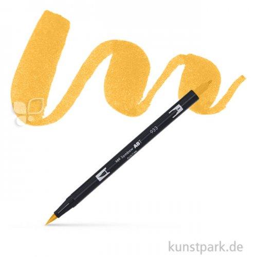 Tombow Dual Brush Pen Einzelfarbe | 991 licht ochre