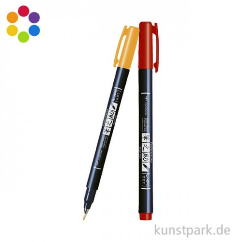 Tombow Fudenosuke Brush Pen - Hart