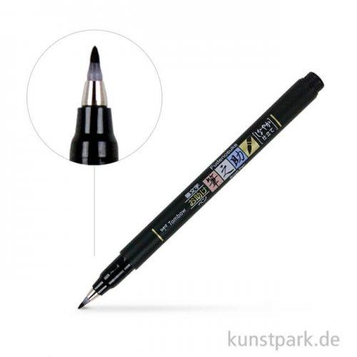 Tombow Fudenosuke Brush Pen Härtegrad 1 (Hart)
