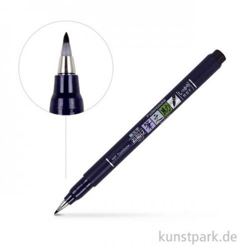 Tombow Fudenosuke Brush Pen Härtegrad 2 (Weich)