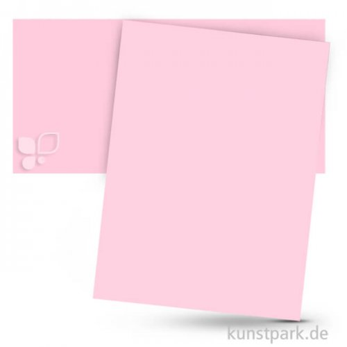 Tonpapier 50x70 cm, 10 Bogen, 130g 10 Bogen | Rosa