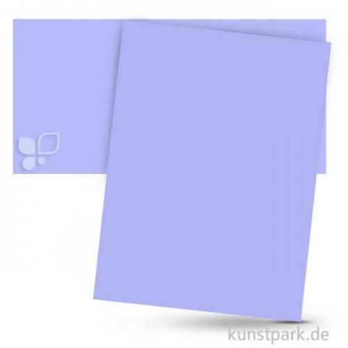 Tonpapier 50x70 cm, 10 Bogen, 130g 10 Bogen | Veilchenblau