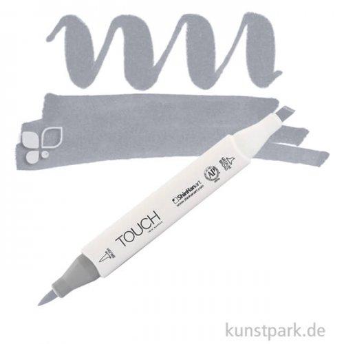 TOUCH Twin Brush Marker Einzelfarbe | CG6 - Cool Grey