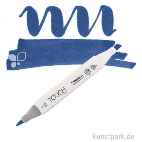 TOUCH Twin Brush Marker Einzelfarbe | PB69 - Prussian Blue