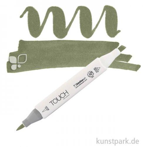 TOUCH Twin Brush Marker Einzelfarbe | Y225 - Olive Green Dark