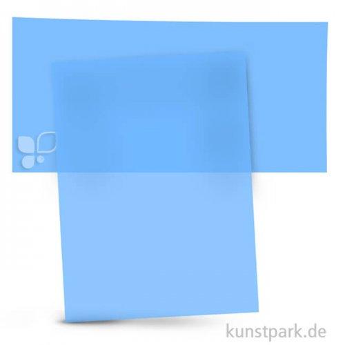 Transparentpapier 50,5x70 cm, 1 Rolle, 115g 1 Rolle | Hellblau