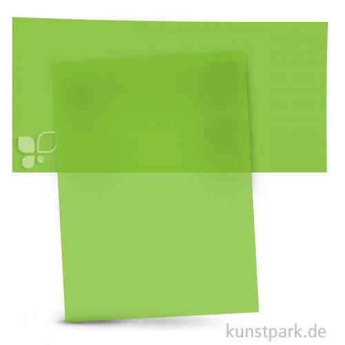 Transparentpapier 50,5x70 cm, 1 Rolle, 115g 1 Rolle   Hellgrün