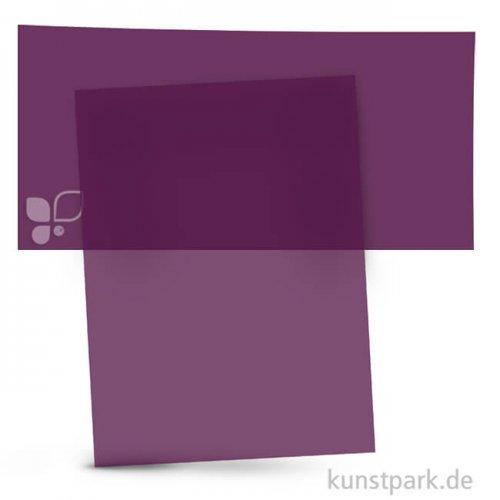 Transparentpapier 50,5x70 cm, 1 Rolle, 115g 1 Rolle   Violett