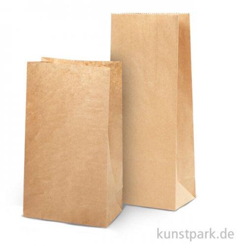 Tüten aus Kraftpapier, 100 Stück, braun