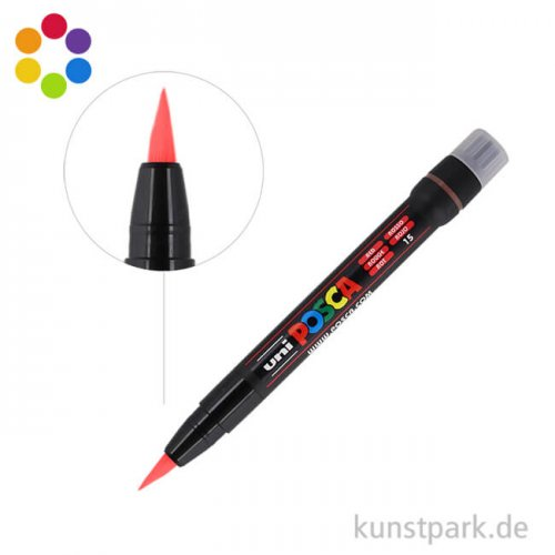 Posca Marker PCF-350 - Brush 0,1-10 mm