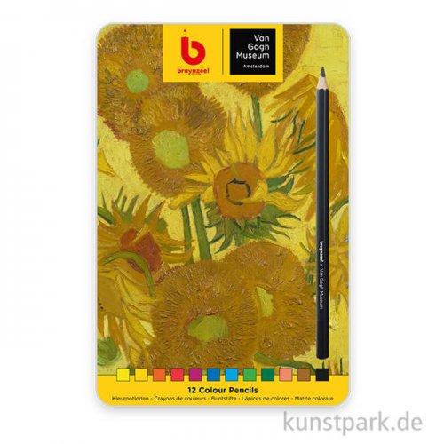 Van Gogh Museum Edition x Bruynzeel 12 Farbstifte im Metalletui