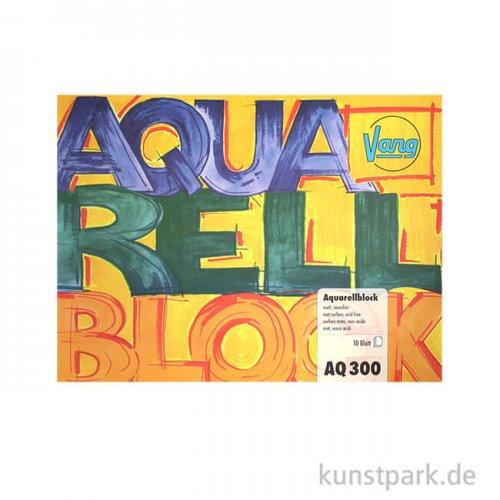 Vang Aquarellblock, 10 Blatt, 300g rau 12 x 16 cm