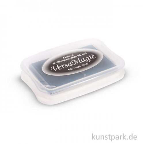 Versa Magic Chalk-Stempelkissen, 9,9x6,8x1,9 cm Schwarz