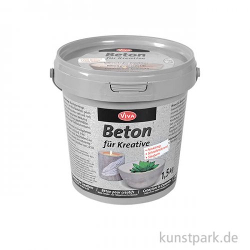 Viva Decor Beton für Kreative - Gieß-Beton 1,5 kg