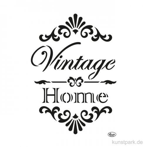 Viva Decor Chalky Schablone DIN A4 - Vintage & Home