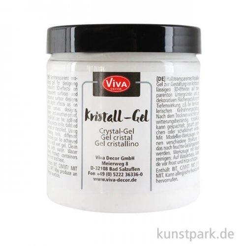 Viva Decor Kristall-Gel Transparent 250 ml