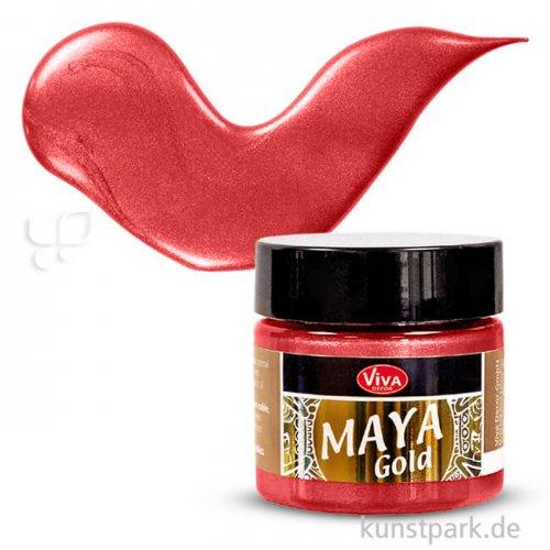 Viva Decor Maya-Gold 45 ml | Feuerrot