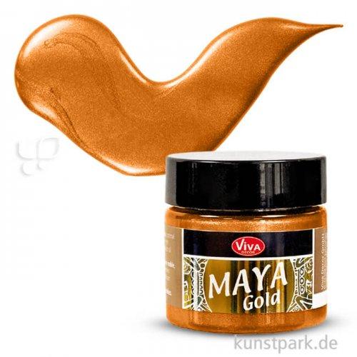 Viva Decor Maya-Gold 45 ml | Orange-Gold