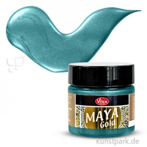 Viva Decor Maya-Gold 45 ml | Petrol