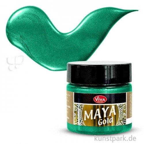 Viva Decor Maya-Gold 45 ml | Smaragd