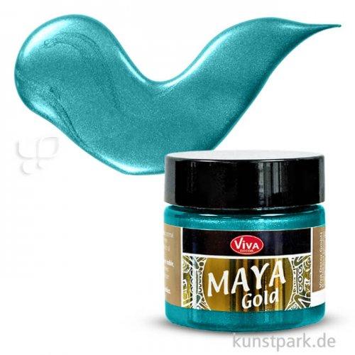 Viva Decor Maya-Gold 45 ml | Türkis