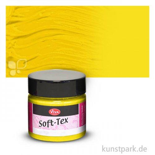Viva Decor Soft-Tex Textilfarbe 45 ml 45 ml | Gelb