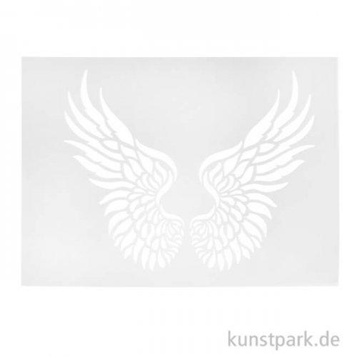 Viva Decor Universal-Schablone 20x25 cm - Flügel