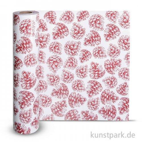Vivi Gade Geschenkpapier - Zapfen, Breite 50 cm 150 m