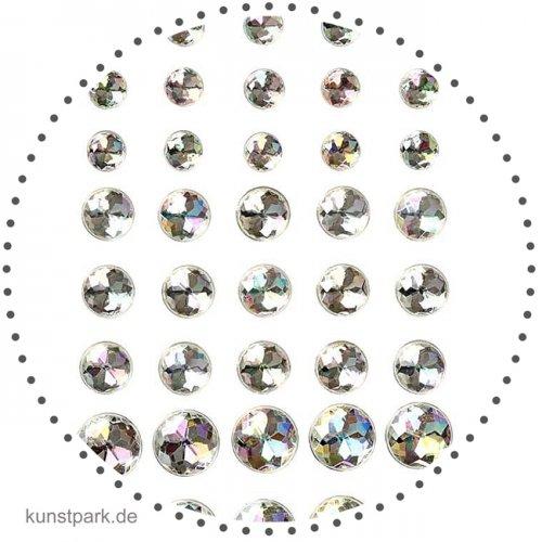 Vivi Gade Skagen - 40 Strasssteine, selbstklebend kristall mit Facette