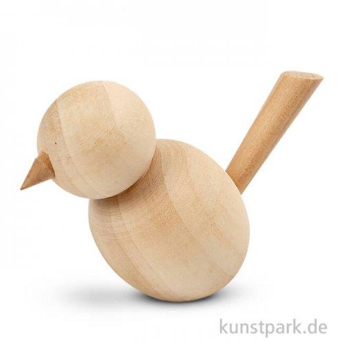 Vogel aus Naturholz, Höhe 7,6 cm