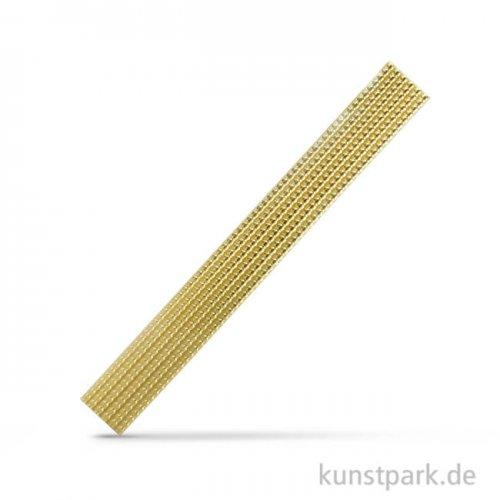 Wachs-Perlstreifen, 20x0,4 cm, 6 Stück Gold