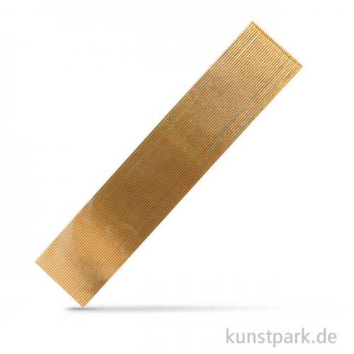 Wachs-Zierstreifen, 20x0,1 cm, 30 Stück Gold
