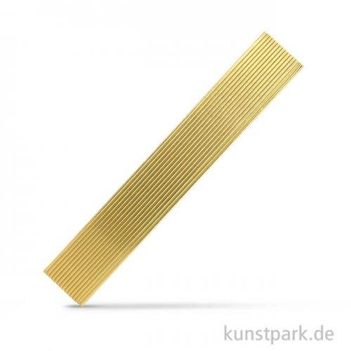 Wachs-Zierstreifen, 20x0,2 cm, 15 Stück Gold